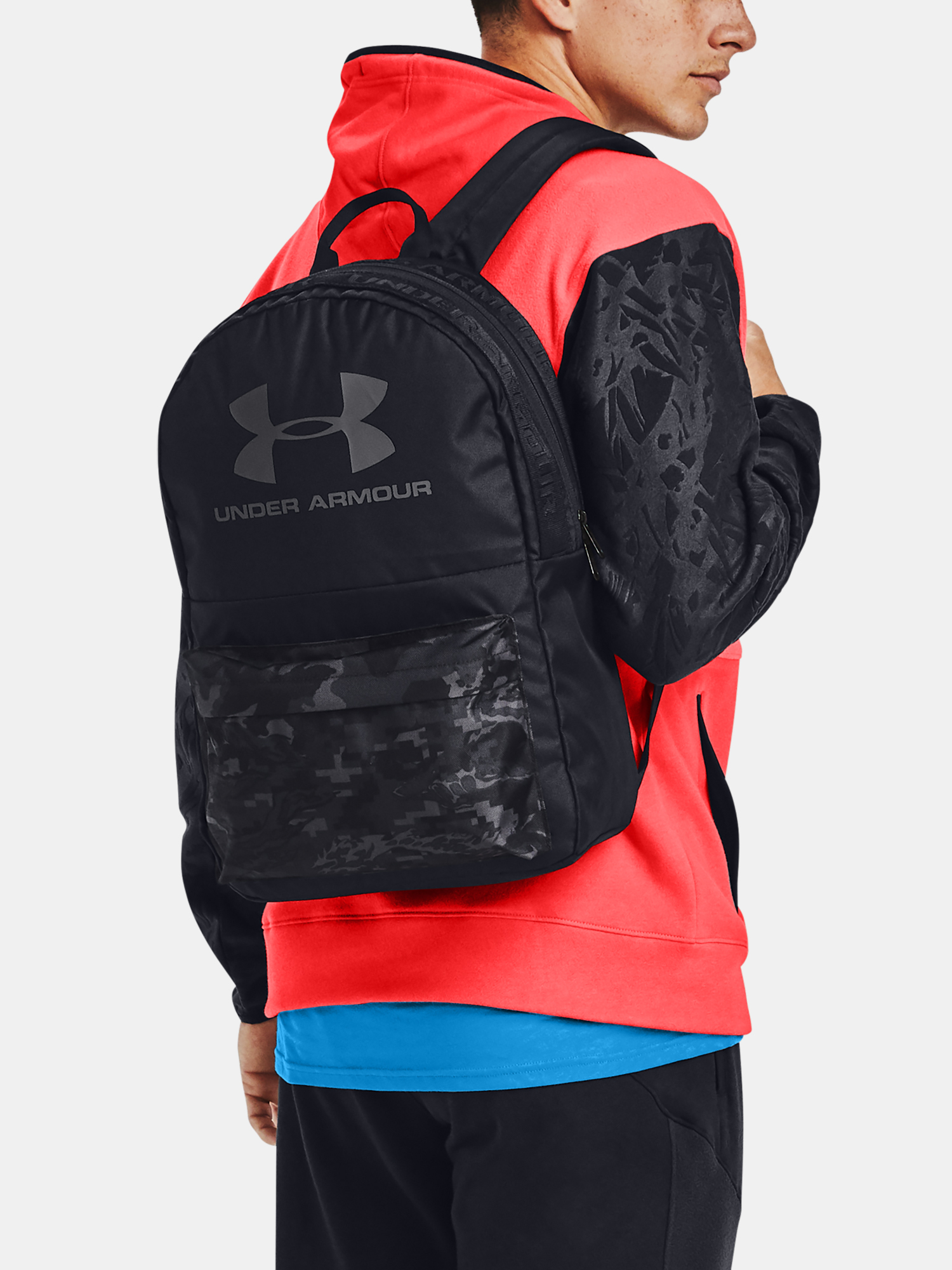 Batoh Under Armour UA Loudon Backpack-BLK (6)