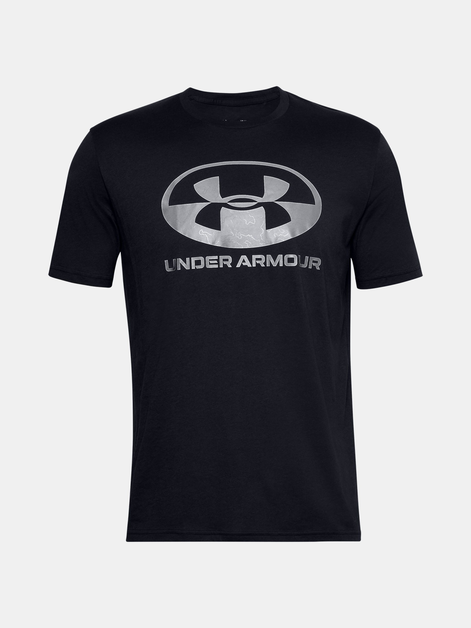 Tričko Under Armour UA LOCKER TAG WORDMARK SS-BLK (1)