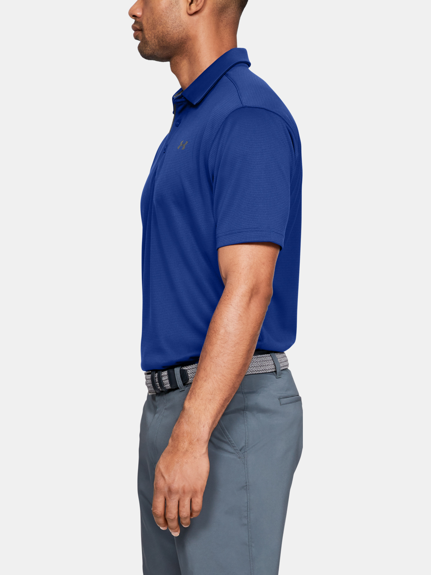 Tričko Under Armour Tech Polo-BLU (5)