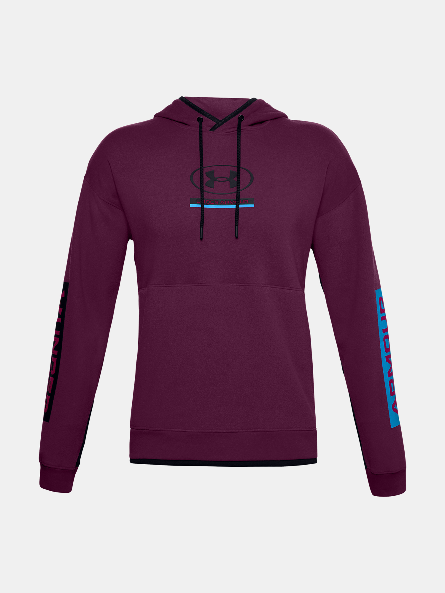 Mikina Under Armour UA 12/1 Pack Hoodie-PPL (3)