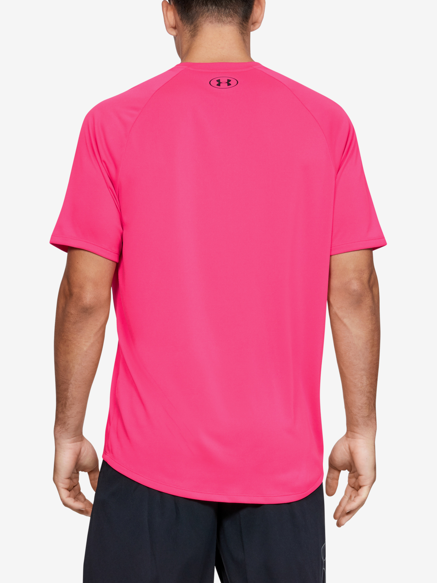 Tričko Under Armour Tech 2.0 SS Tee-PNK (2)