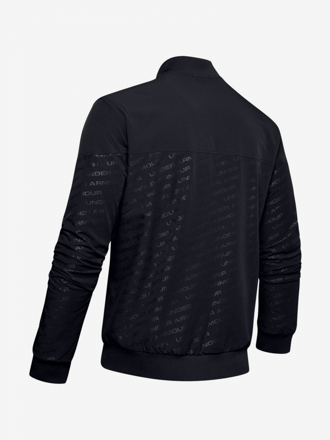 Bunda Under Armour Unstoppable Emboss Bomber-Blk (4)