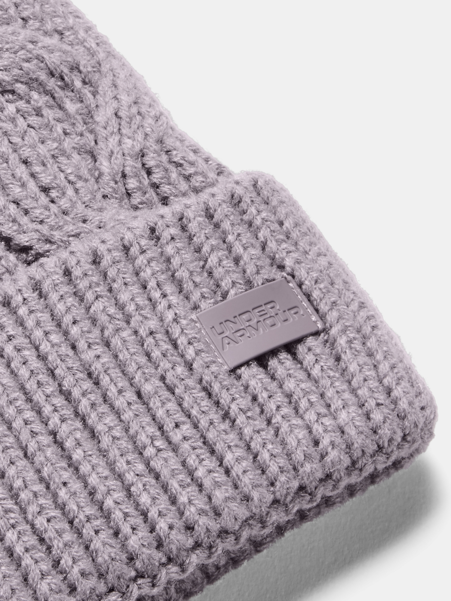 Čepice Under Armour Around Town Pom Beanie-PPL (3)