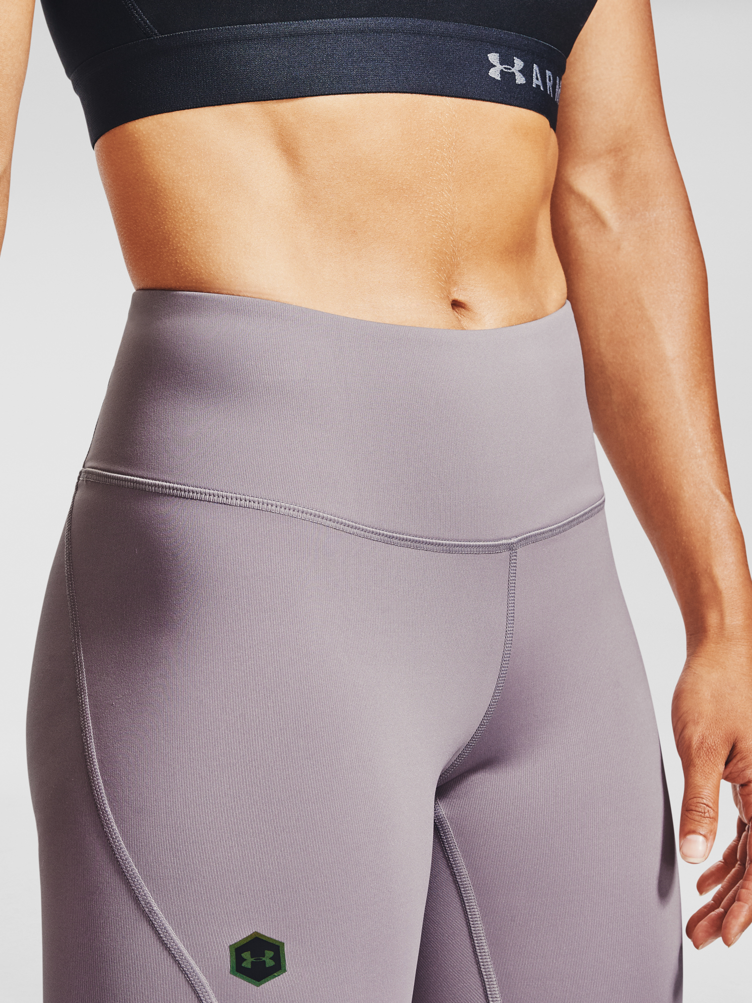 Legíny Under Armour UA Rush Crop-PPL (5)