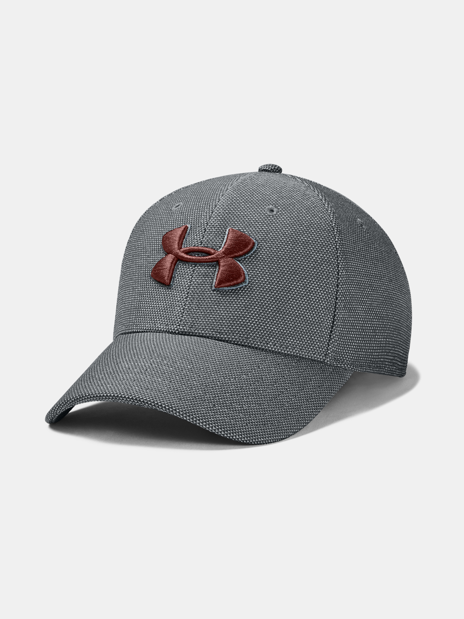 Šiltovka Under Armour UA Men's Heathered Blitzing 3.0-GRY (1)