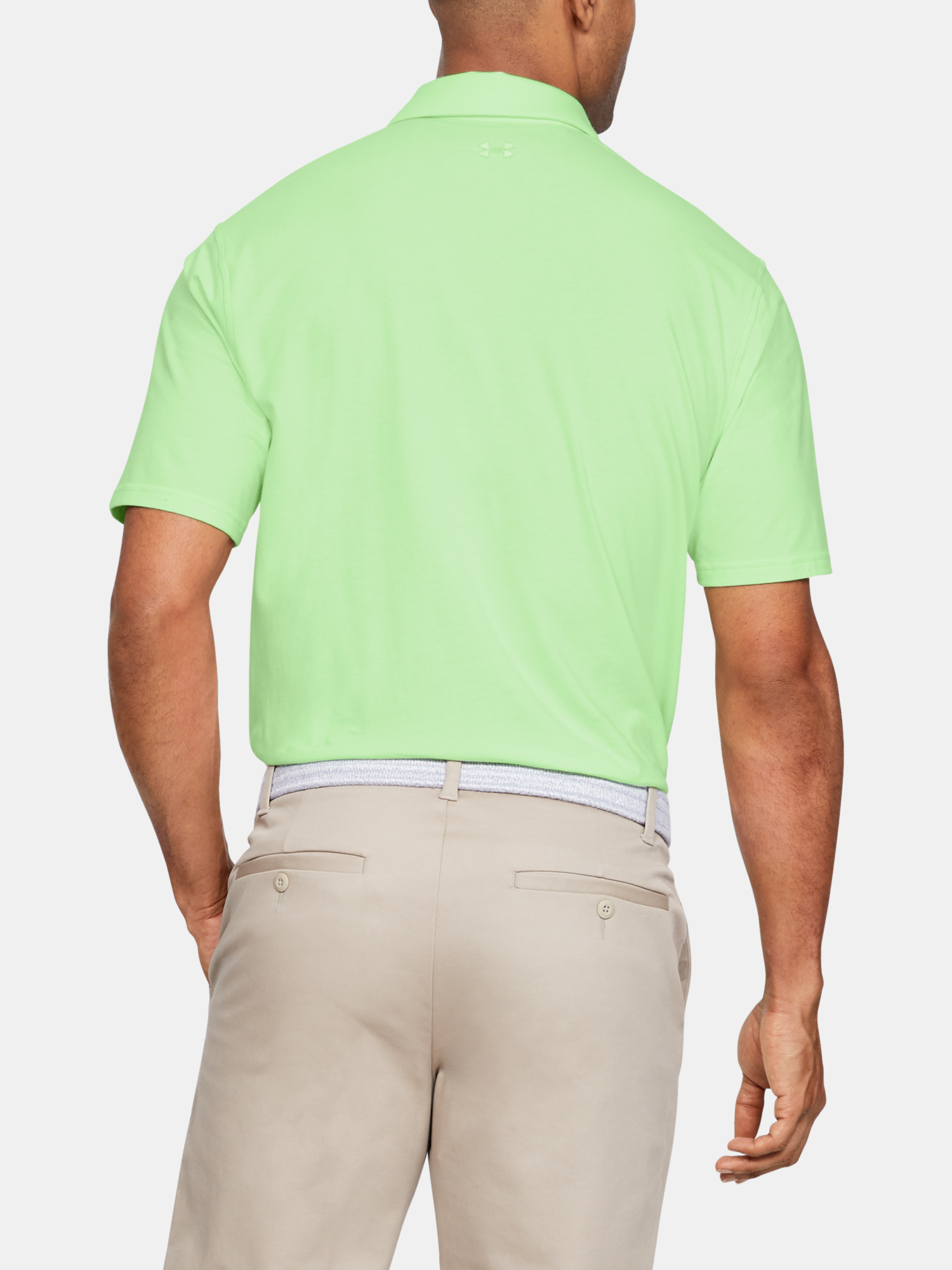 Tričko Under Armour Charged Cotton Scramble Polo-GRN (2)