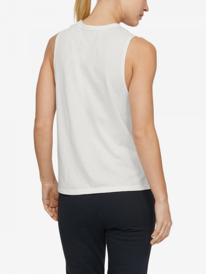 Tielko Under Armour GRAPHIC BOX SCRIPT MUSCLE TANK-WHT (2)