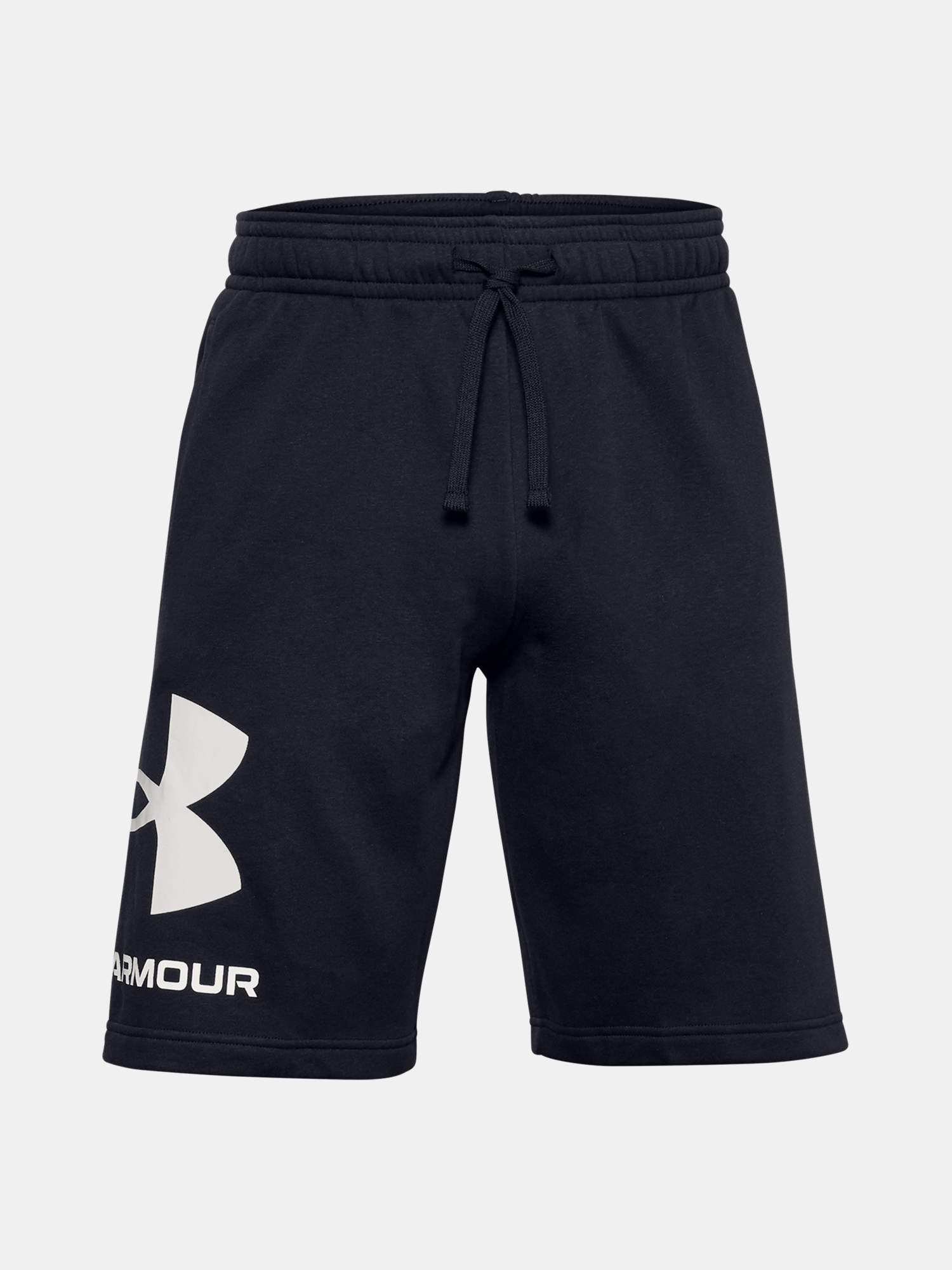 Kraťasy Under Armour UA Rival FLC Big Logo Shorts-BLK (1)