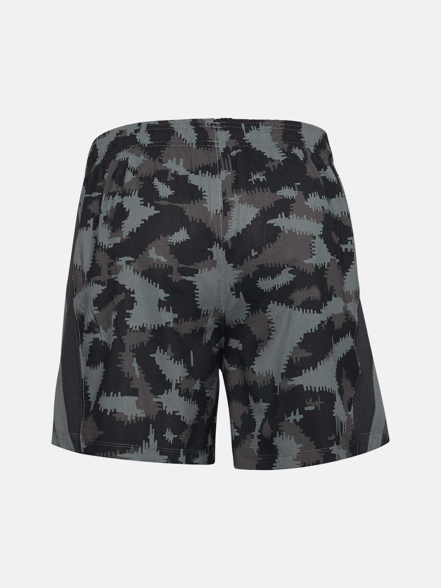 Kraťasy Under Armour UA Launch SW 5'' Camo Short-BLK (4)