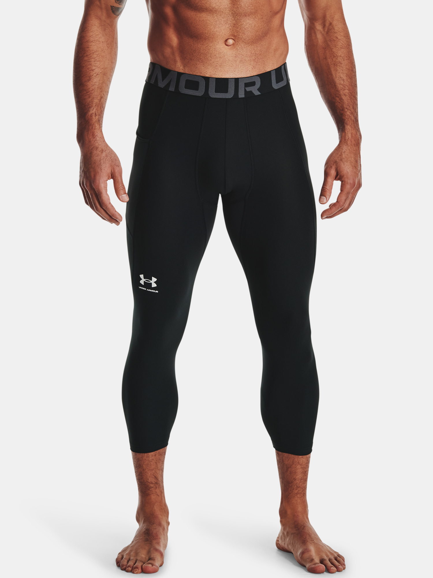Legíny Under Armour HG Armour 3/4 Legging-BLK (1)