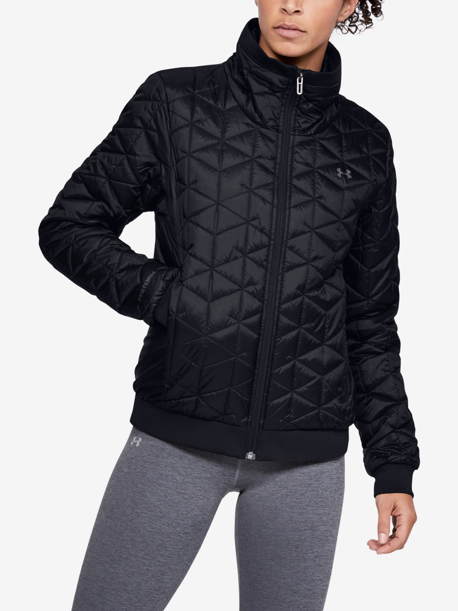 Bunda Under Armour Cg Reactor Performance Jacket-Blk (1)
