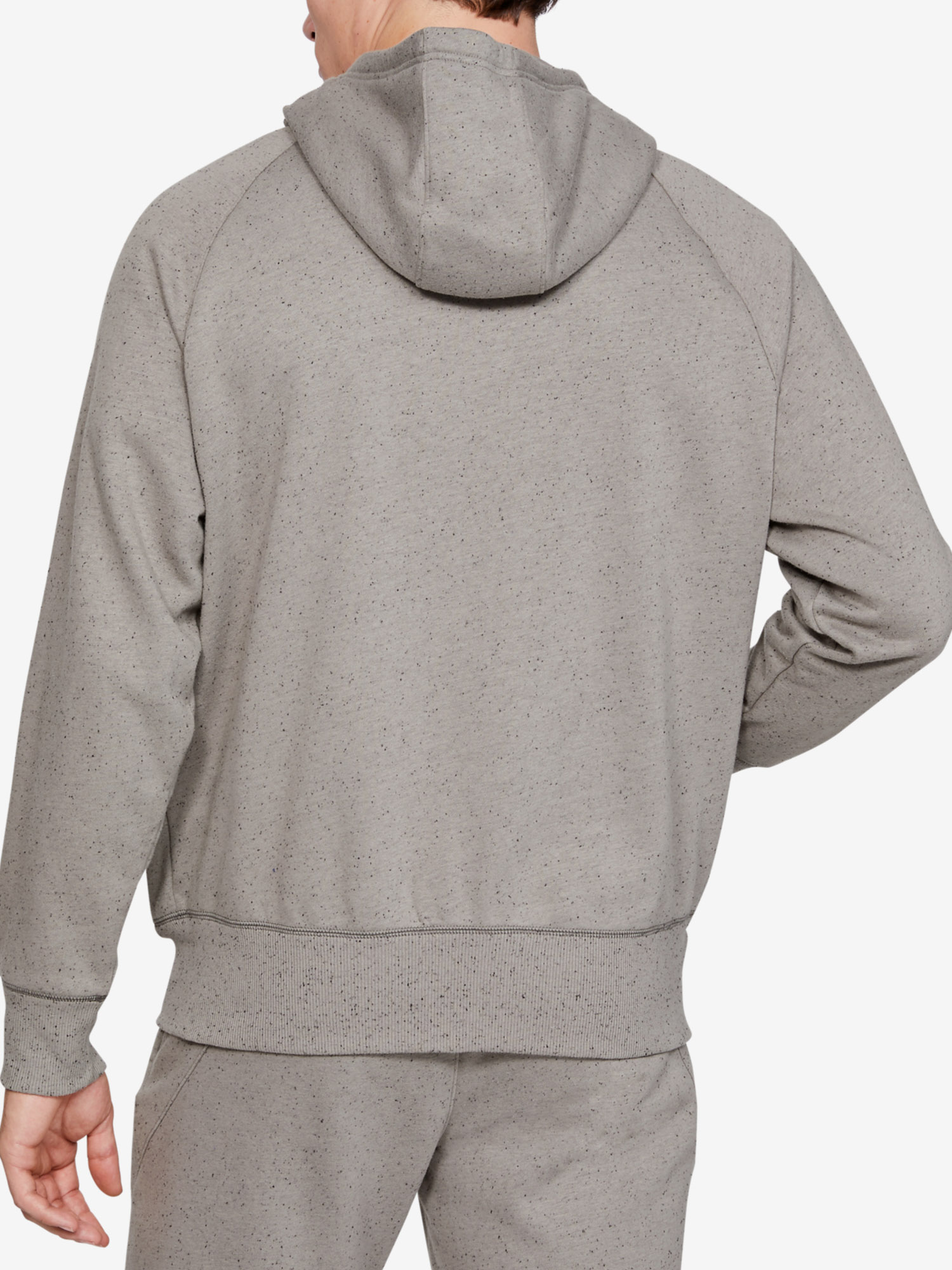 Mikina Under Armour Speckled Fleece Fz Hoodie (2)