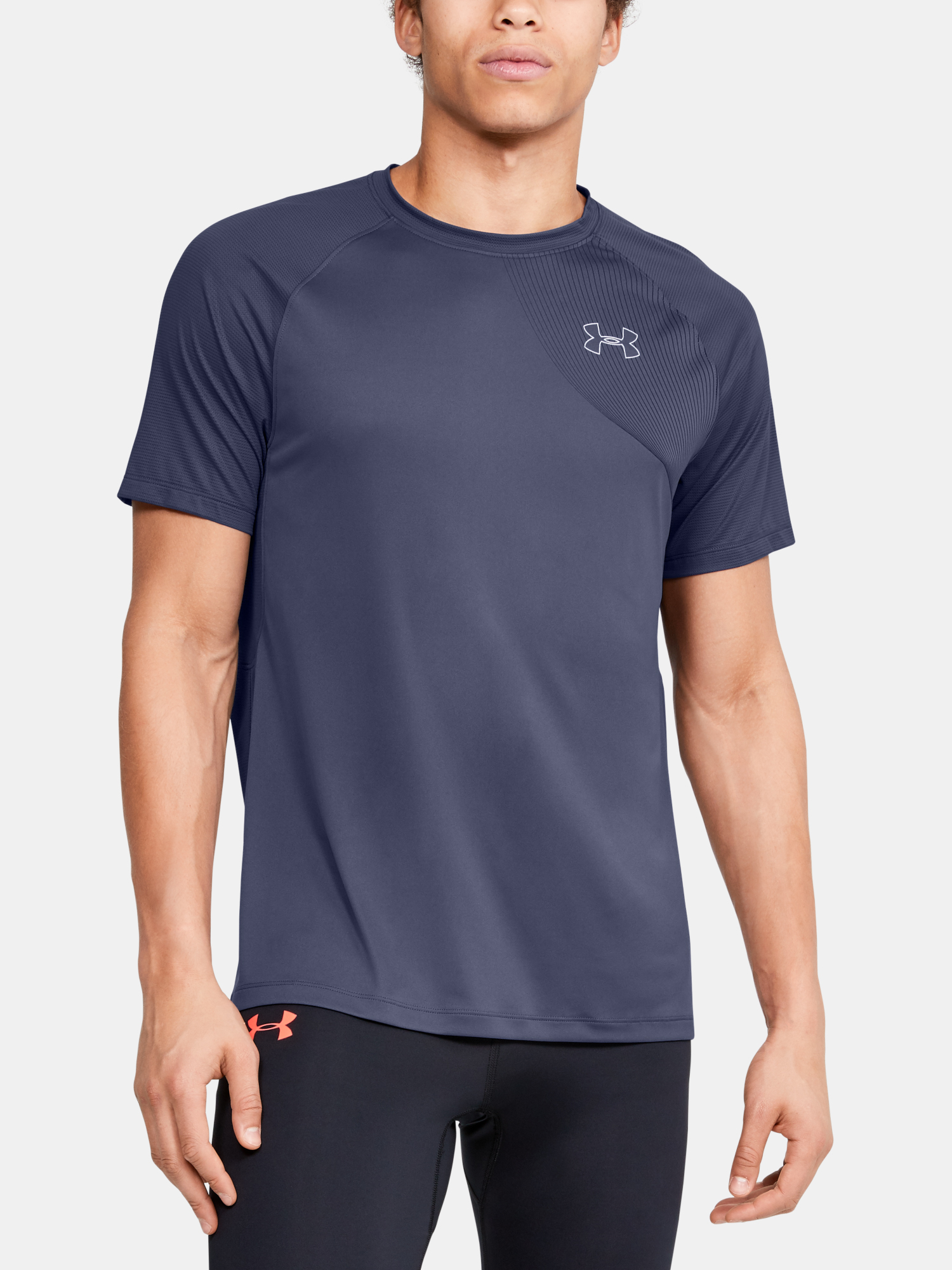 Tričko Under Armour M Qlifier Iso-Chill Short Sleeve (1)