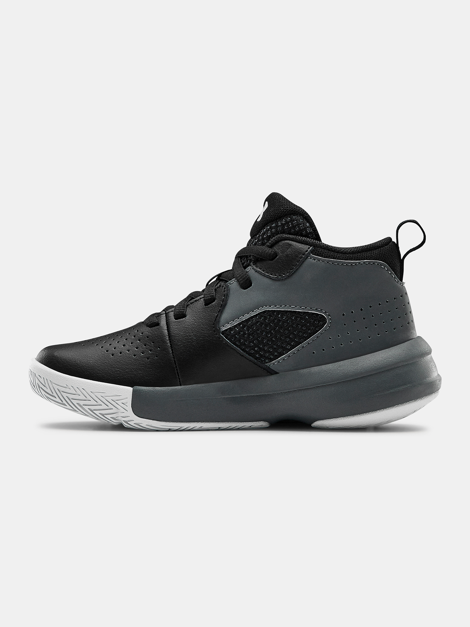 Topánky Under Armour UA PS Lockdown 5-BLK (2)