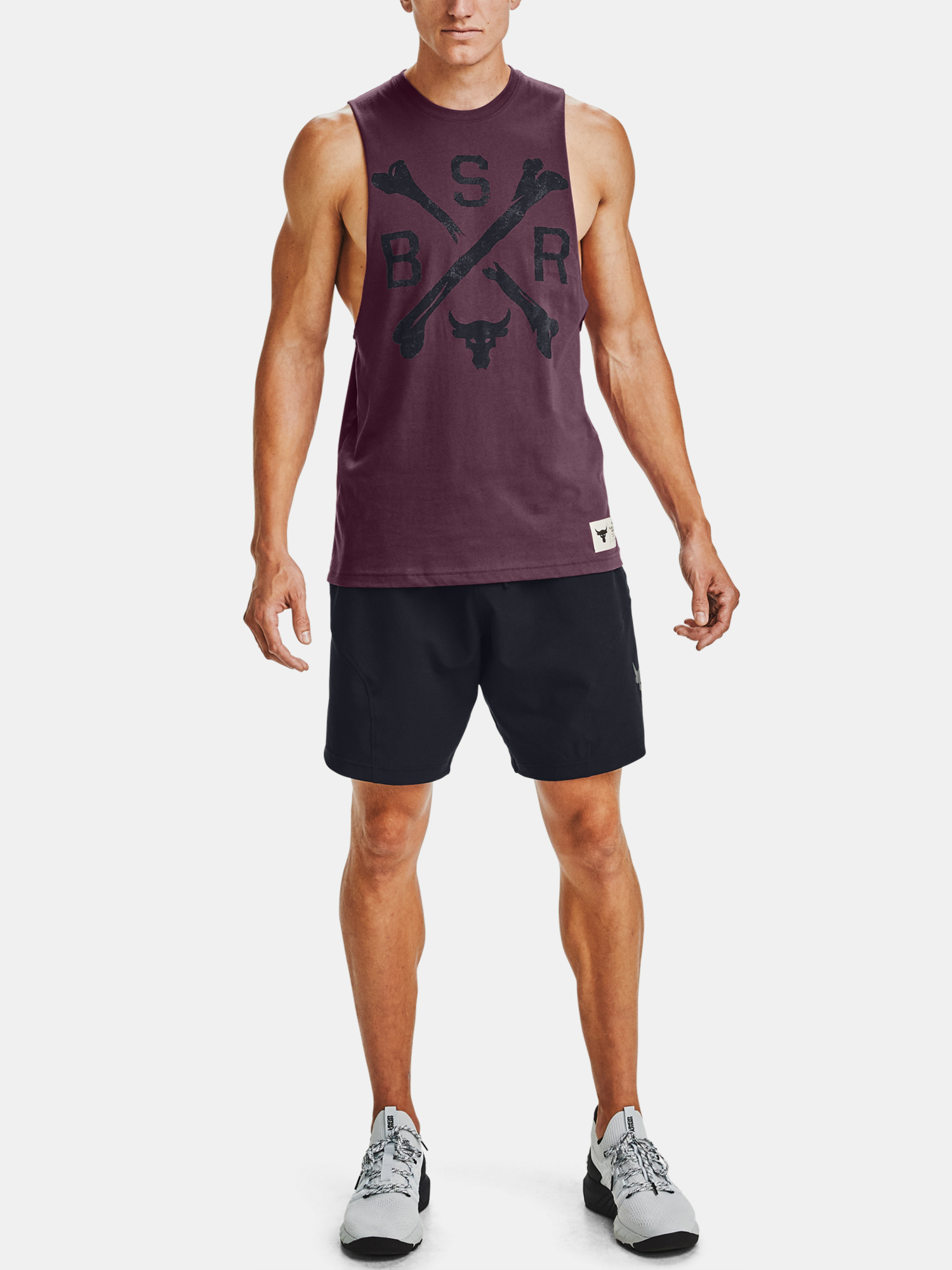 Tielko Under Armour PROJECT ROCK BSR TANK (6)