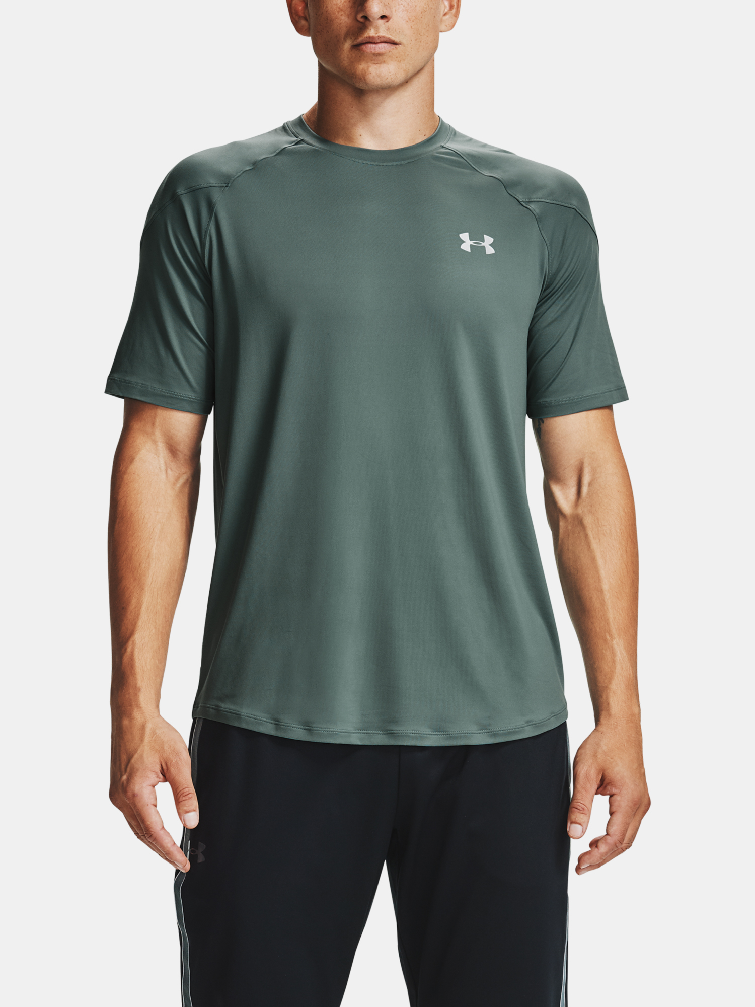 Tričko Under Armour UA Recover SS-BLU (1)