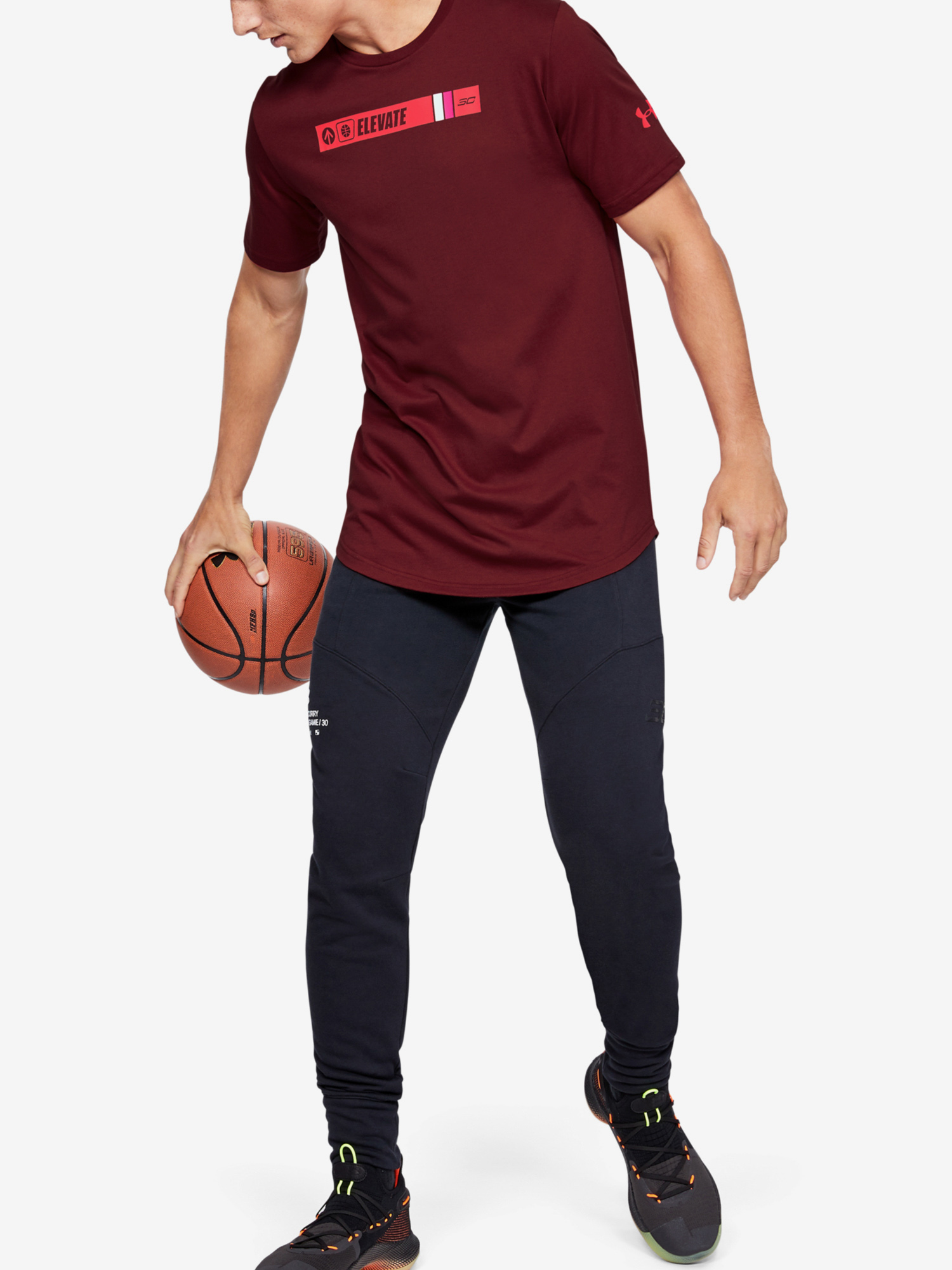Tričko Under Armour Sc30 Ss Elevated Tee (6)
