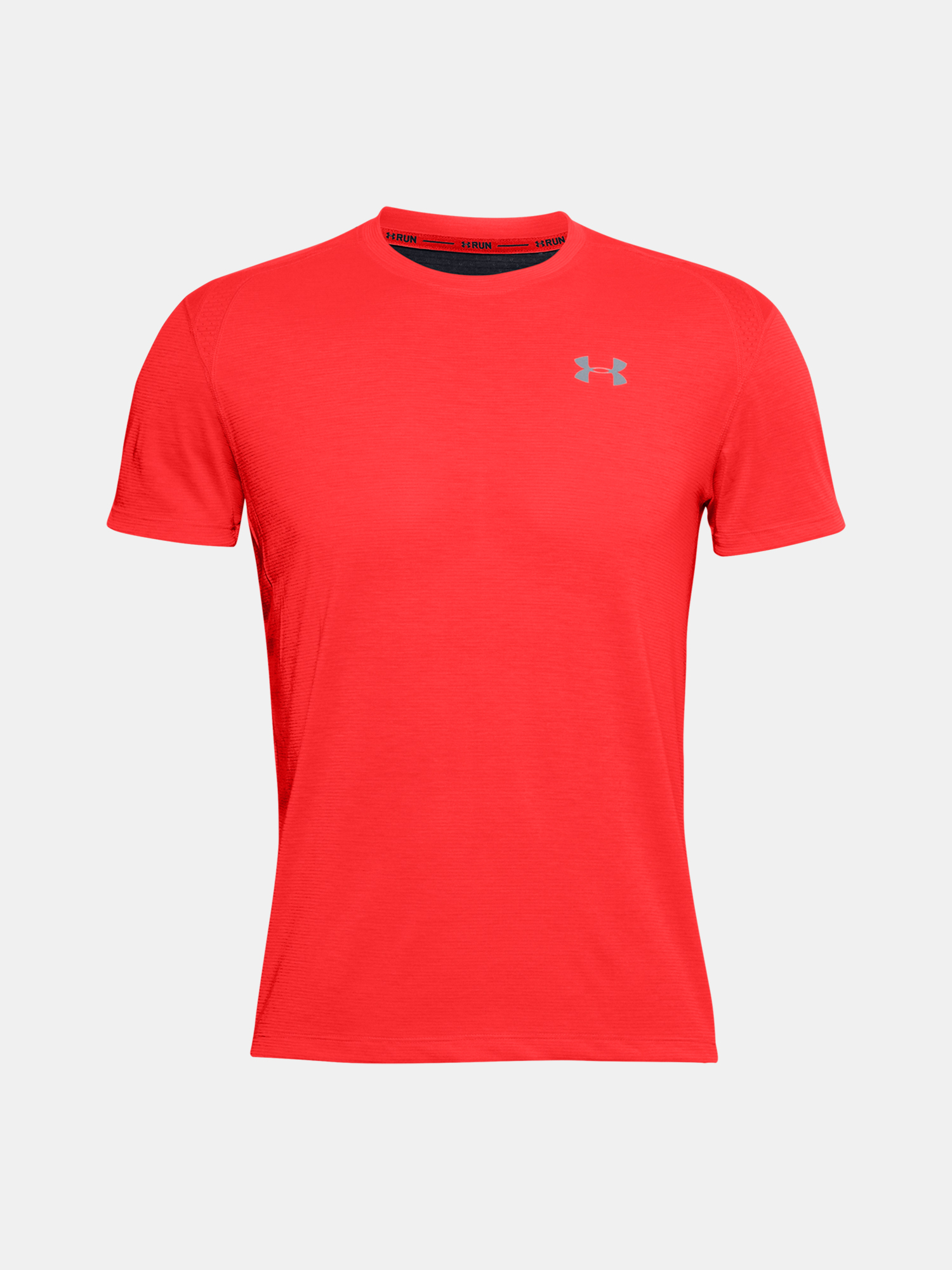 Tričko Under Armour UA STREAKER 2.0 SHORTSLEEVE-RED (1)