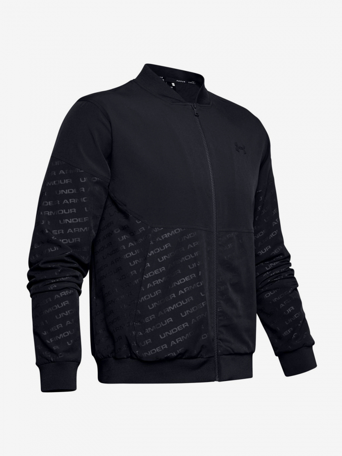 Bunda Under Armour Unstoppable Emboss Bomber-Blk (3)