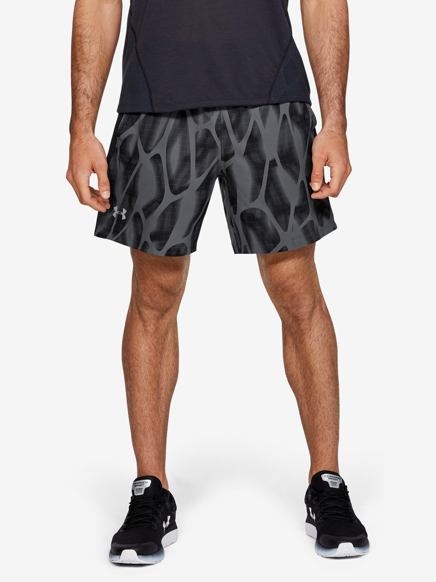 Kraťasy Under Armour Launch Sw 7'' Printed Short (1)
