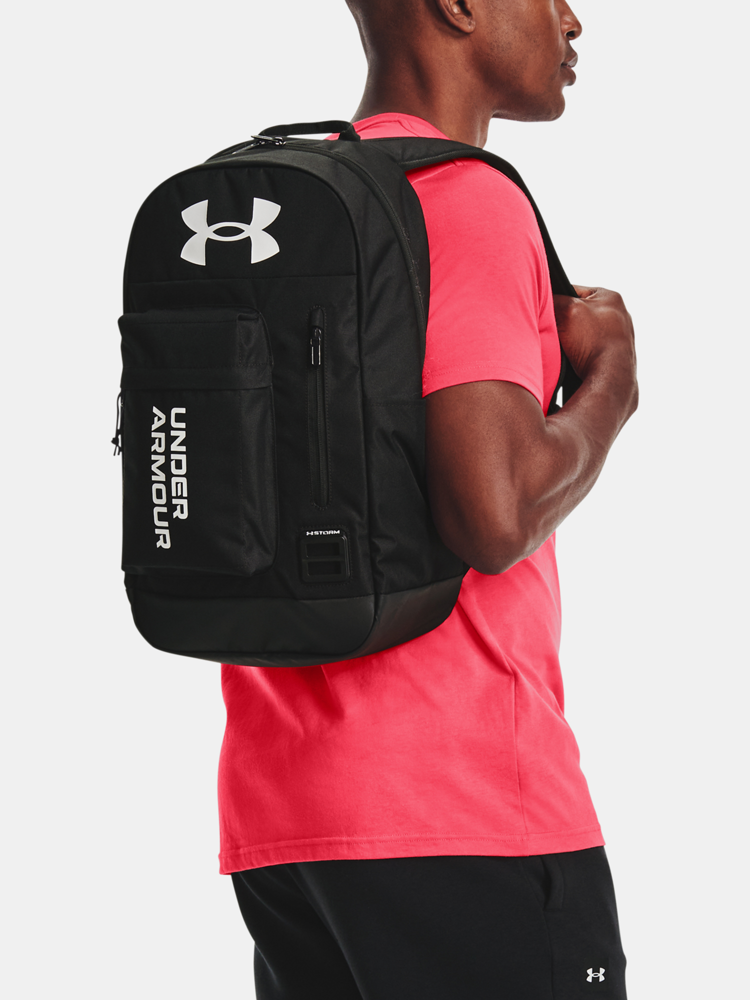 Batoh Under Armour Halftime Backpack-BLK (6)