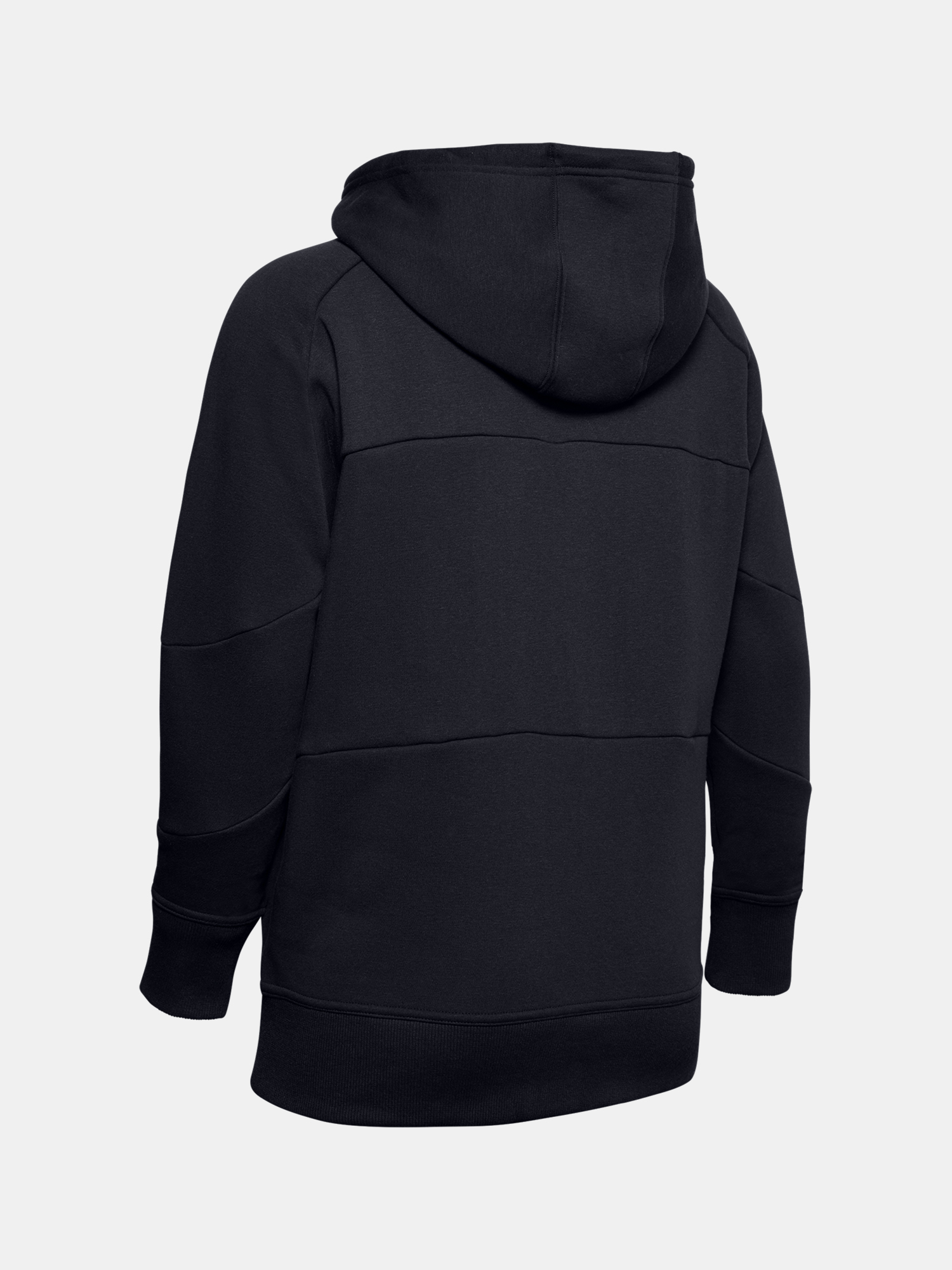 MIkina Under Armour Rival Fleece Color block Hoodie-BLK (4)