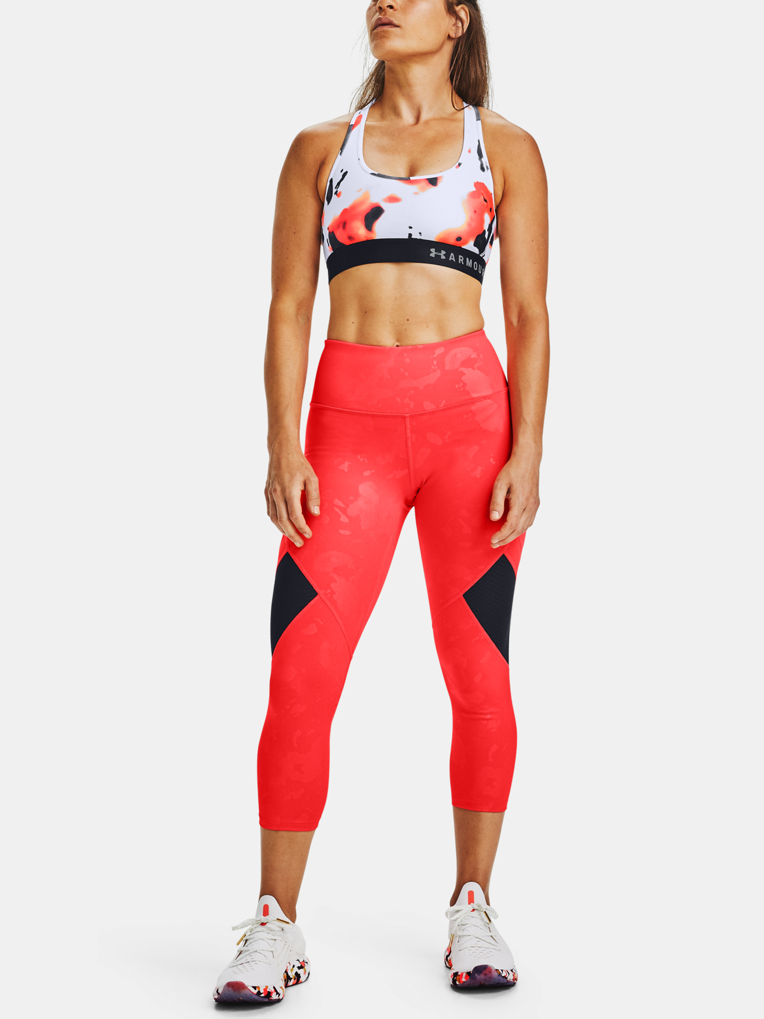 Kompresní legíny Under Armour Kazoku Rush Crop (7)