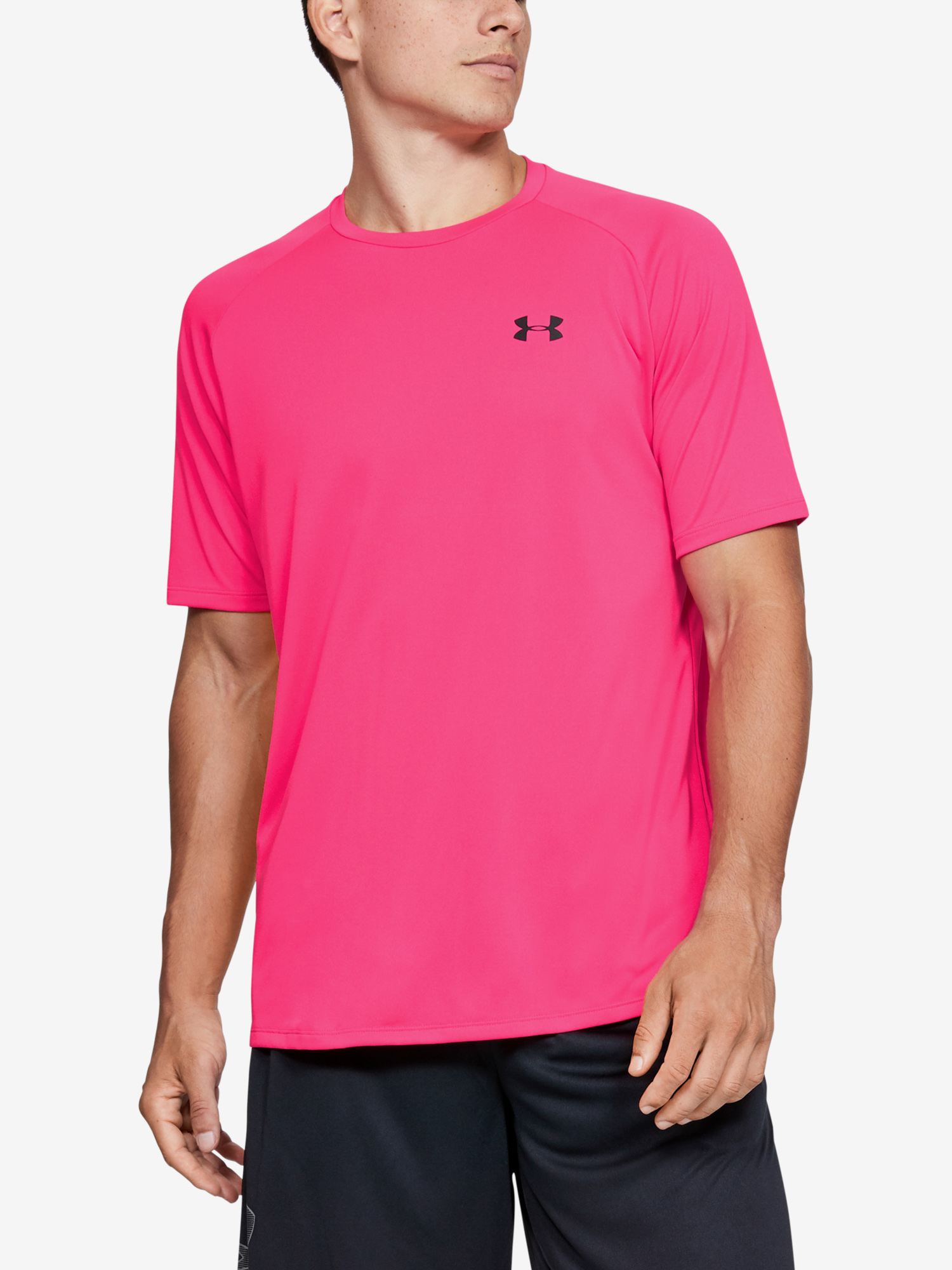 Tričko Under Armour Tech 2.0 SS Tee-PNK (1)