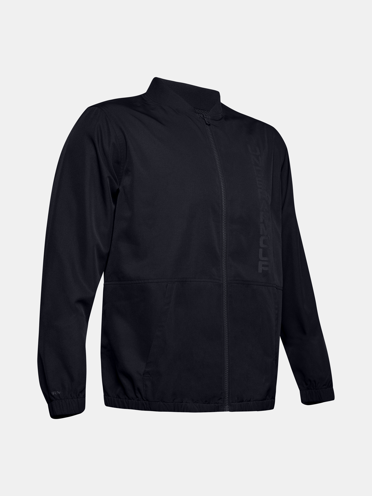 Bunda Under Armour Unstoppable Essential Bomber-Blk (3)