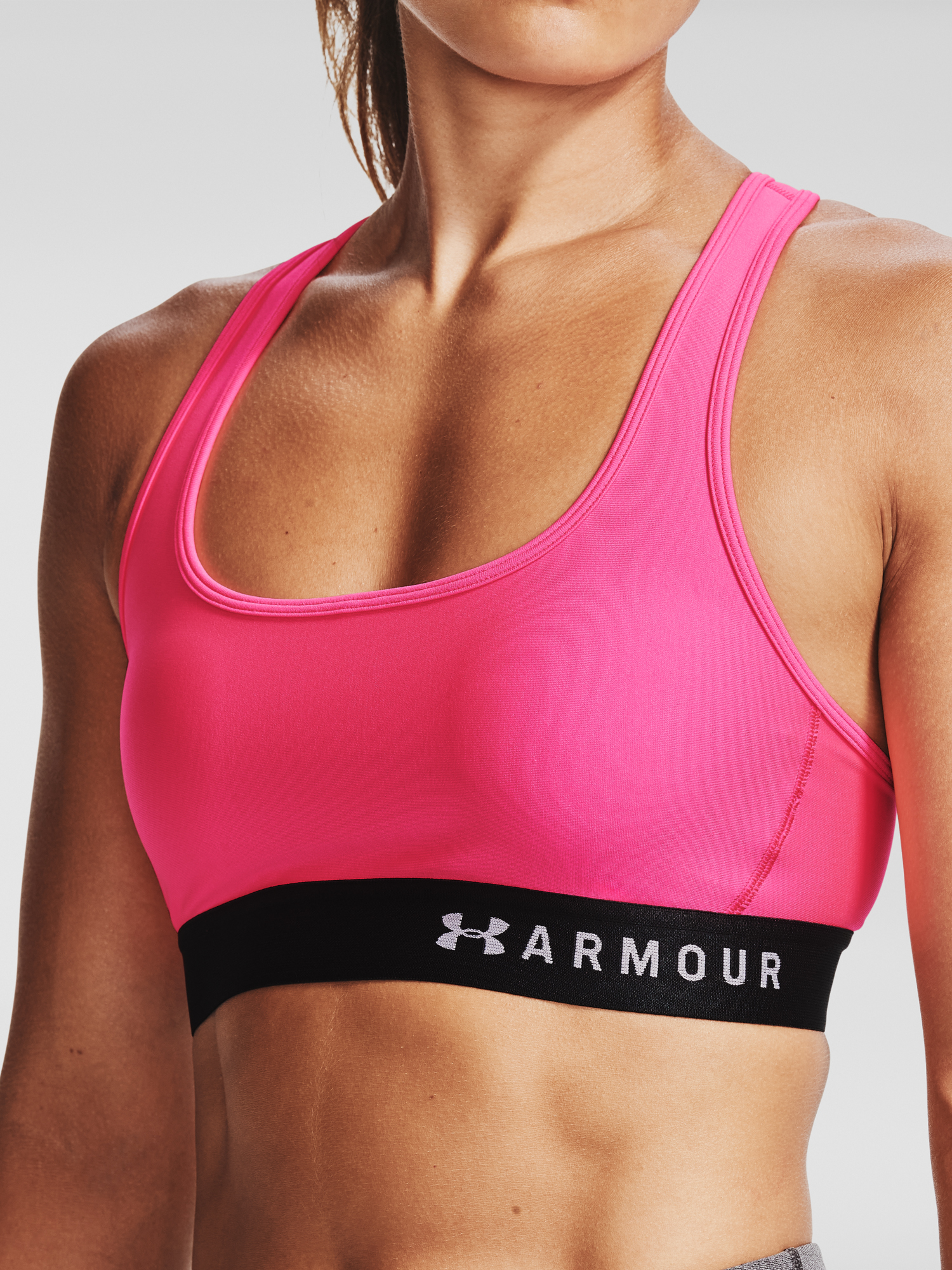 Podprsenka Under Armour Armour Mid Crossback Bra-PNK (5)