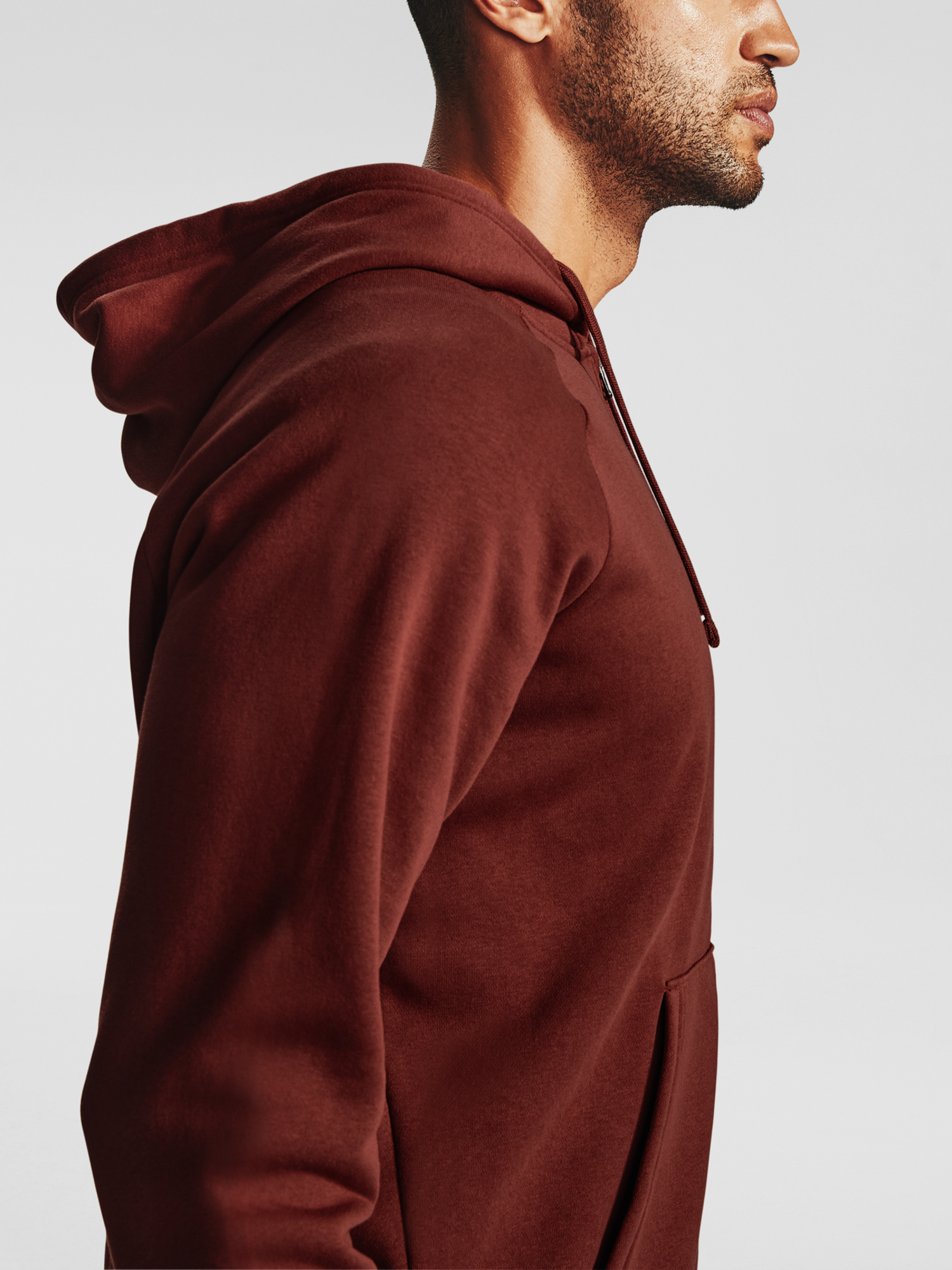 Mikina Under Armour UA Rival Fleece FZ Hoodie-RED (4)