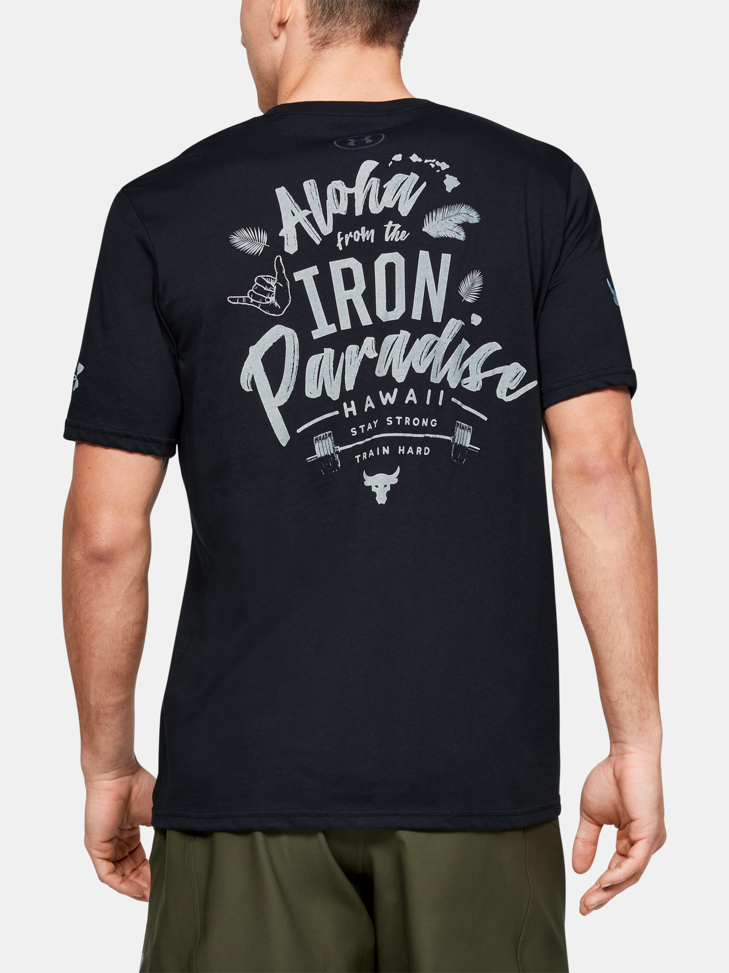 Tričko Under Armour Project Rock Iron Paradise Ss (2)