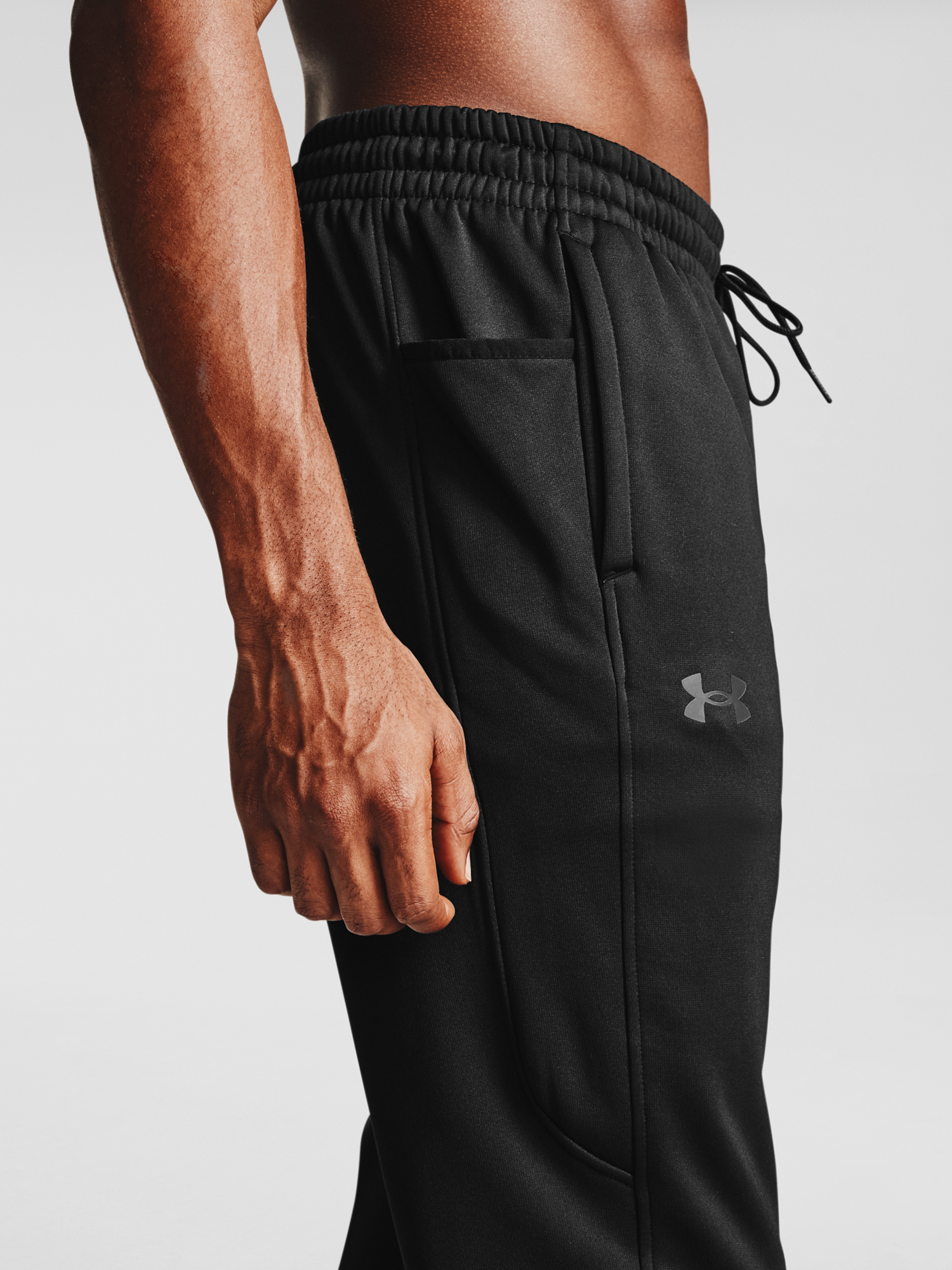 Tepláky Under Armour Armour Fleece Joggers-BLK (4)