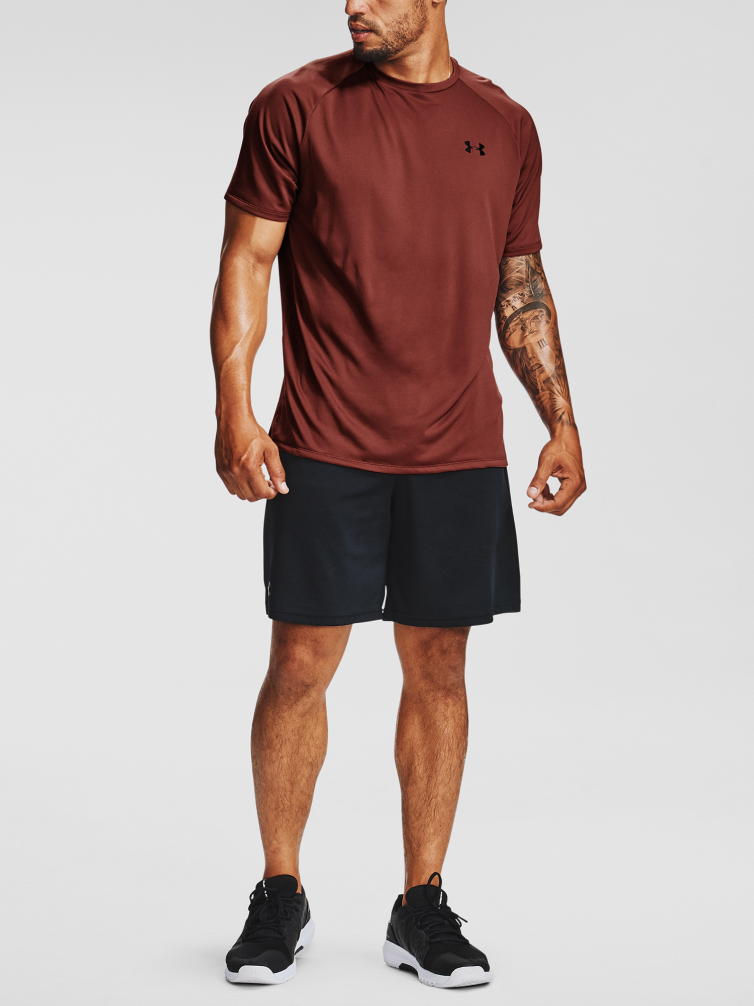 Tričko Under Armour UA Tech 2.0 SS Tee-RED (6)