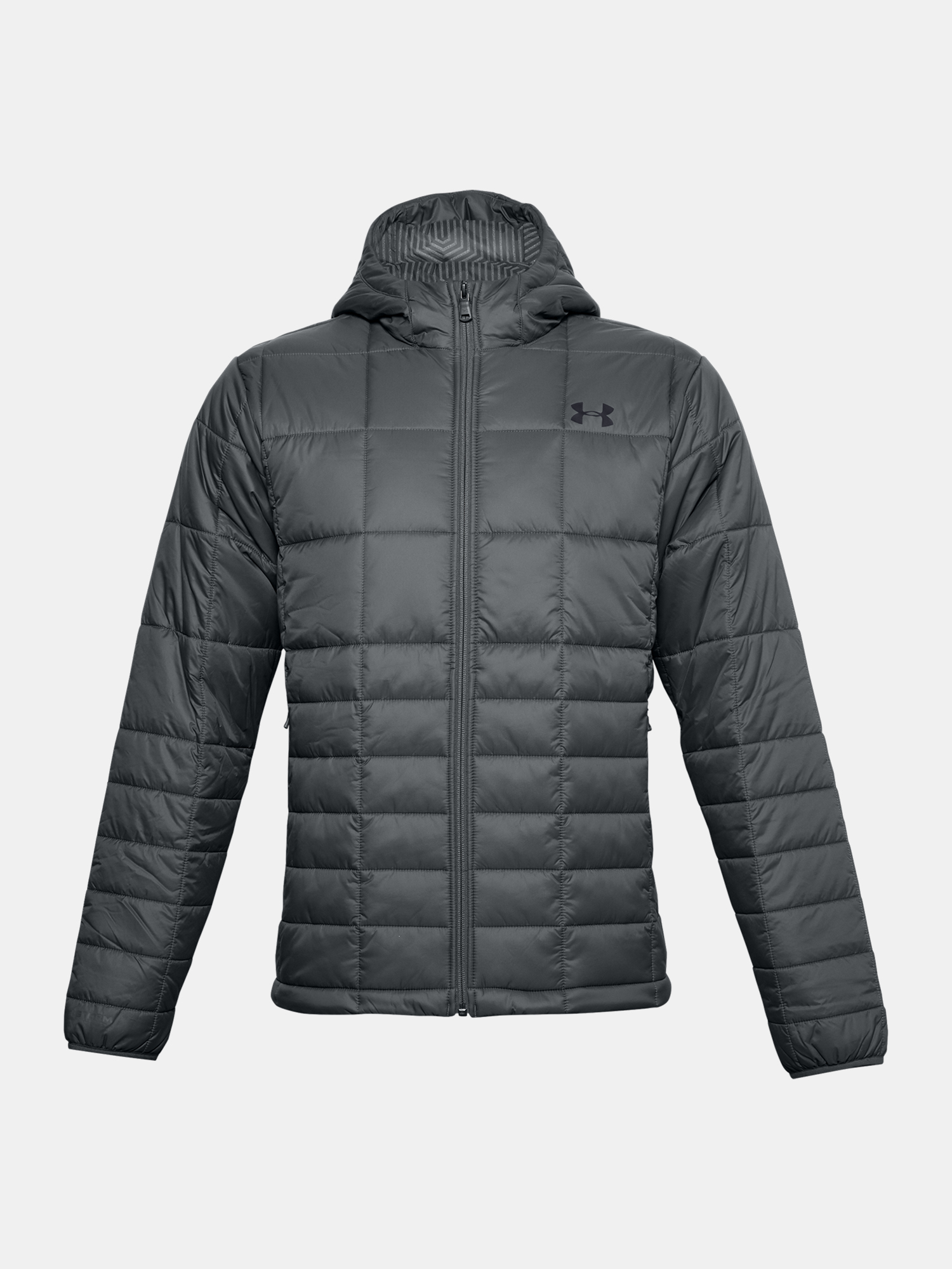 Bunda Under Armour UA Armour Insulated Hooded Jkt-GRY (3)