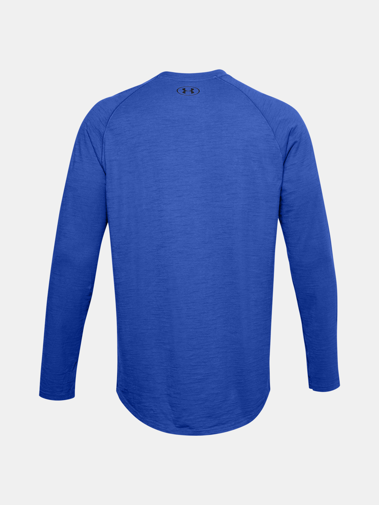 Tričko Under Armour Charged Cotton LS-BLU (4)