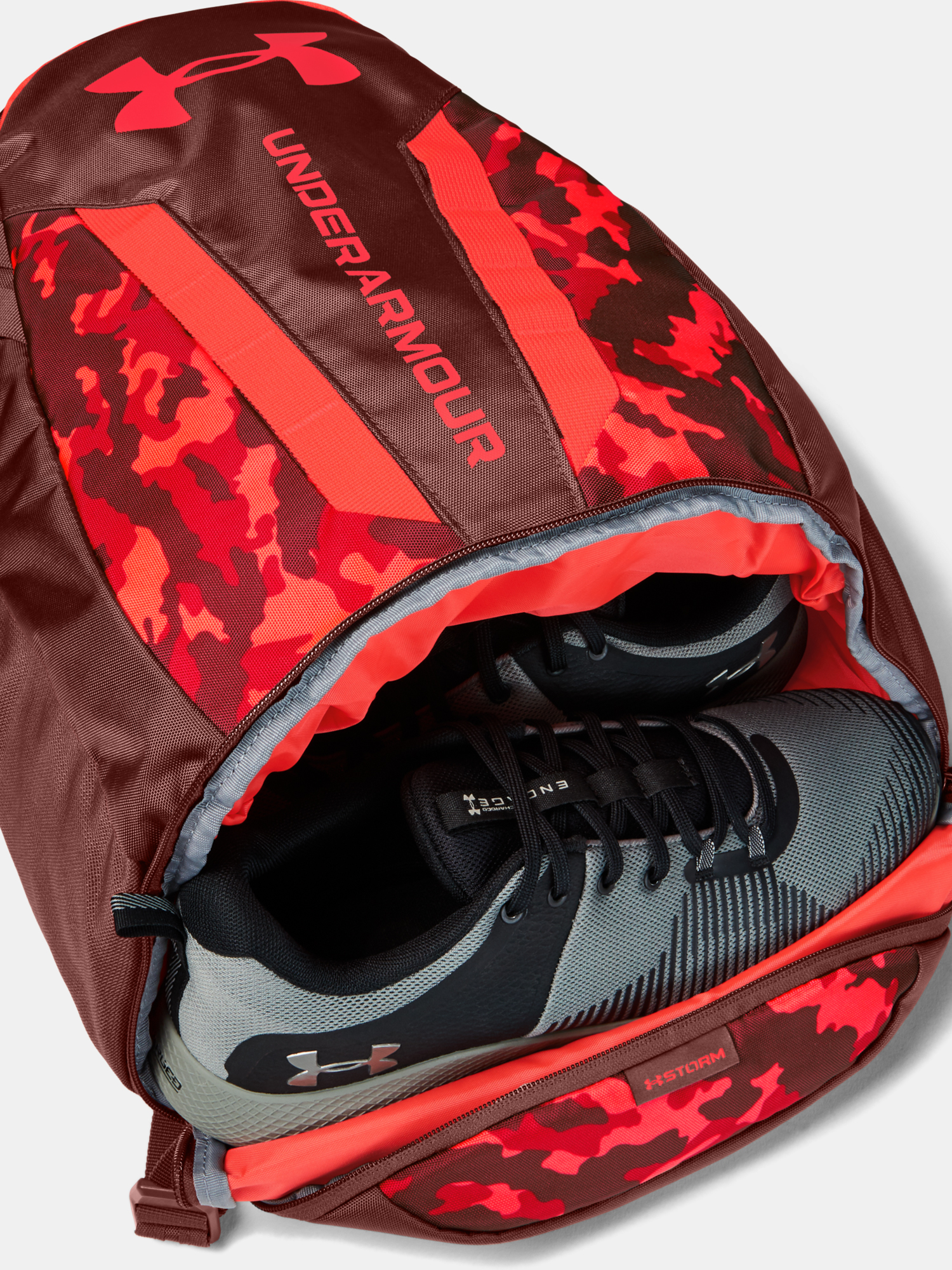 Batoh Under Armour UA Hustle 5.0 Backpack-RED (4)