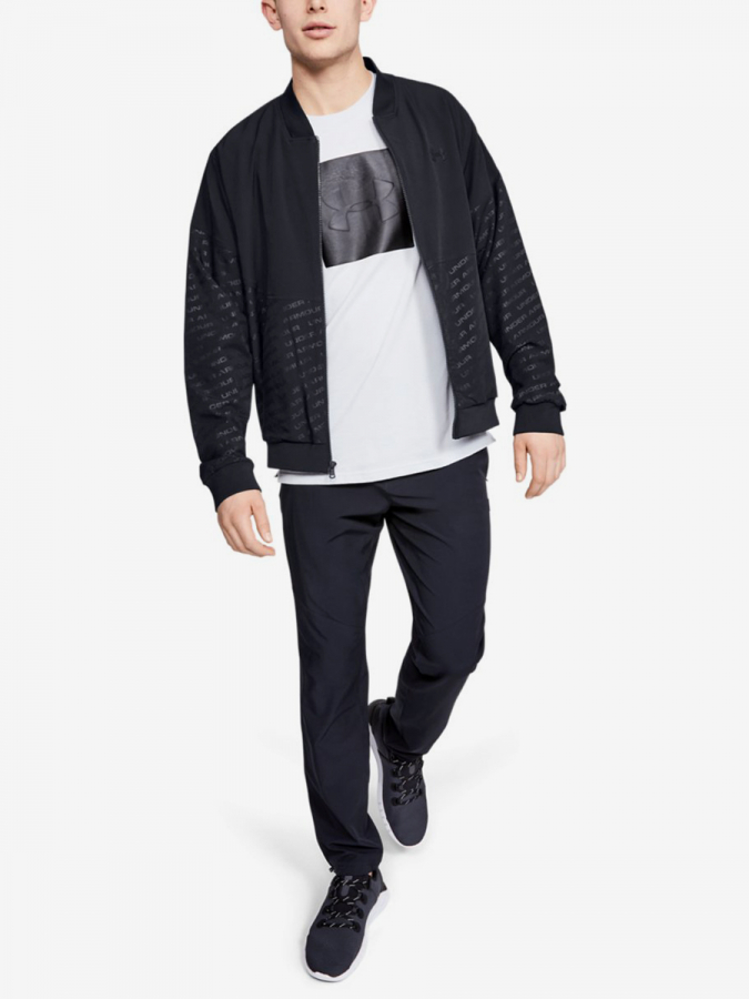 Bunda Under Armour Unstoppable Emboss Bomber-Blk (5)