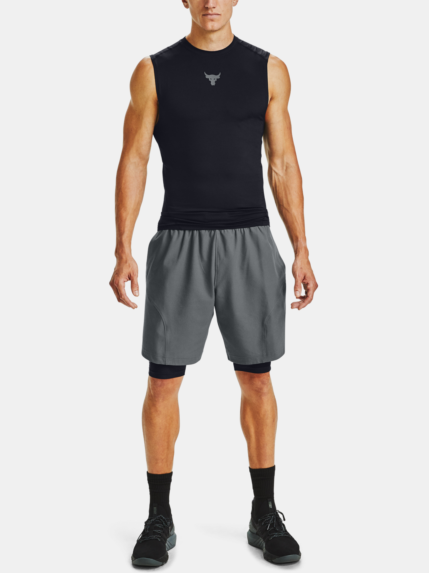 Kraťasy Under Armour Project Rock HG Shorts (7)