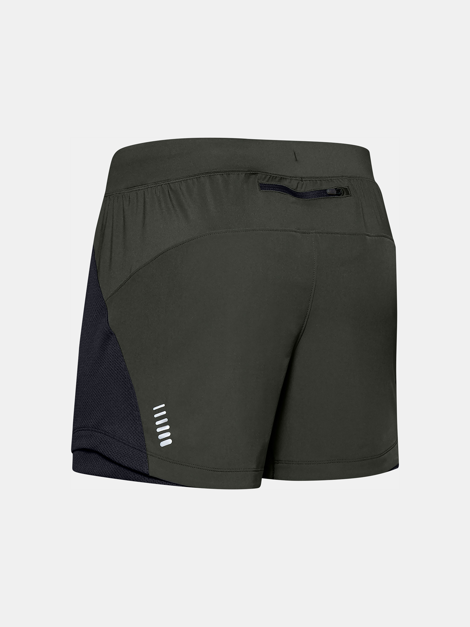 Kraťasy Under Armour QUALIFIER SPEEDPOCKET 5'' SHORT-GRN (4)