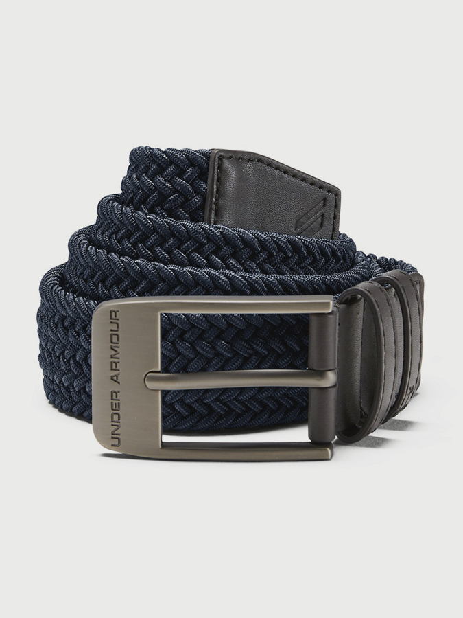Opasok Under Armour Men's Braided 2.0 Belt-NVY (1)