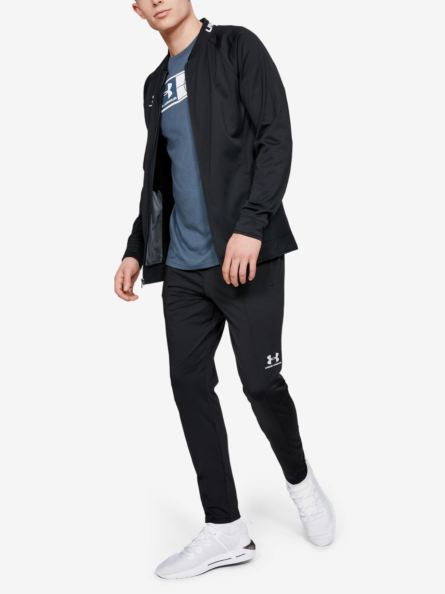 Tepláky Under Armour Challenger Iii Training Pant-Blk (5)