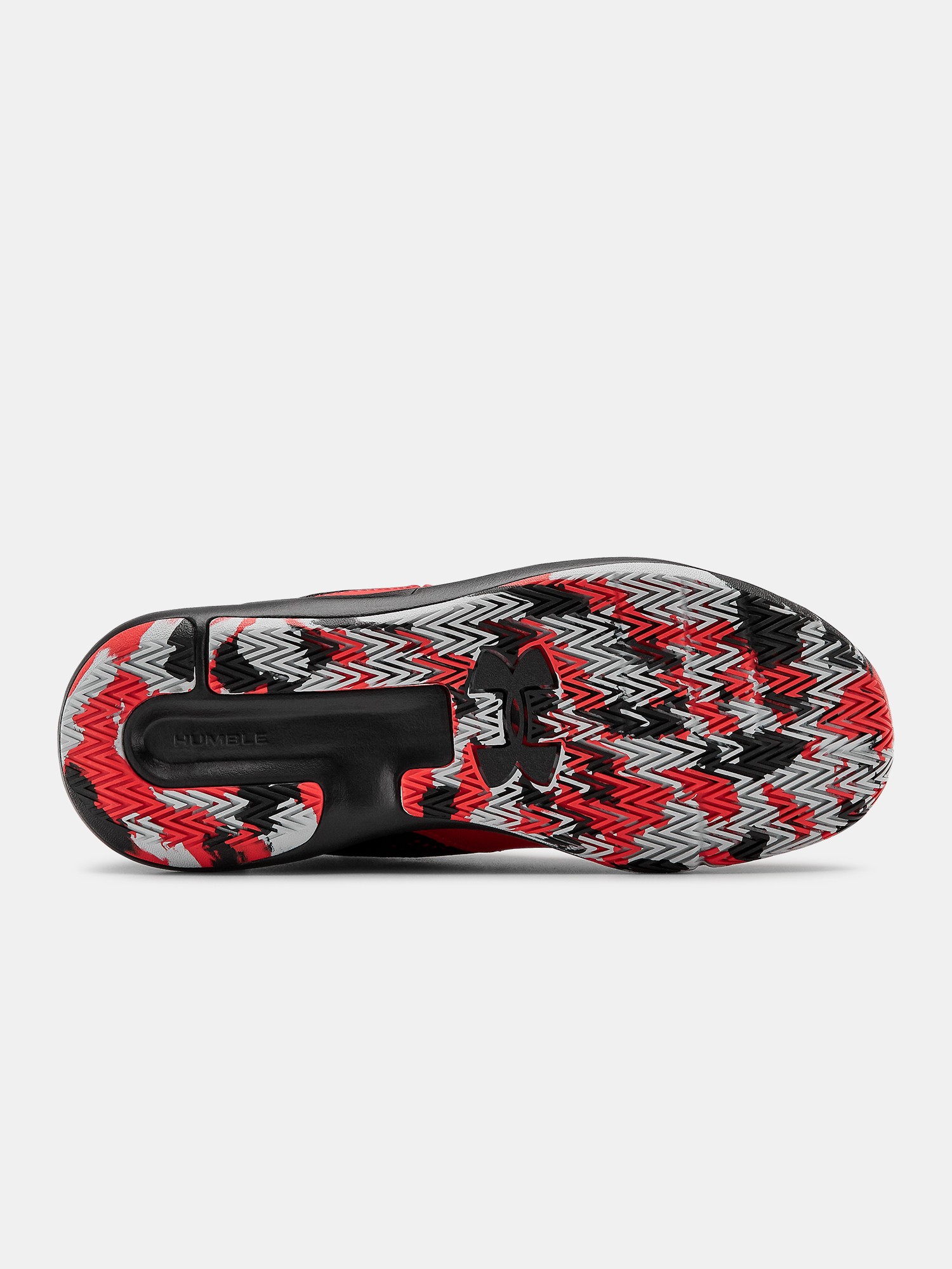 Topánky Under Armour UA GS Lockdown 5-RED (4)