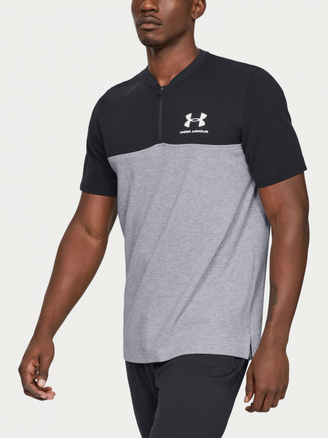 Tričko Under Armour Sportstyle Track 1/2 Zip (1)