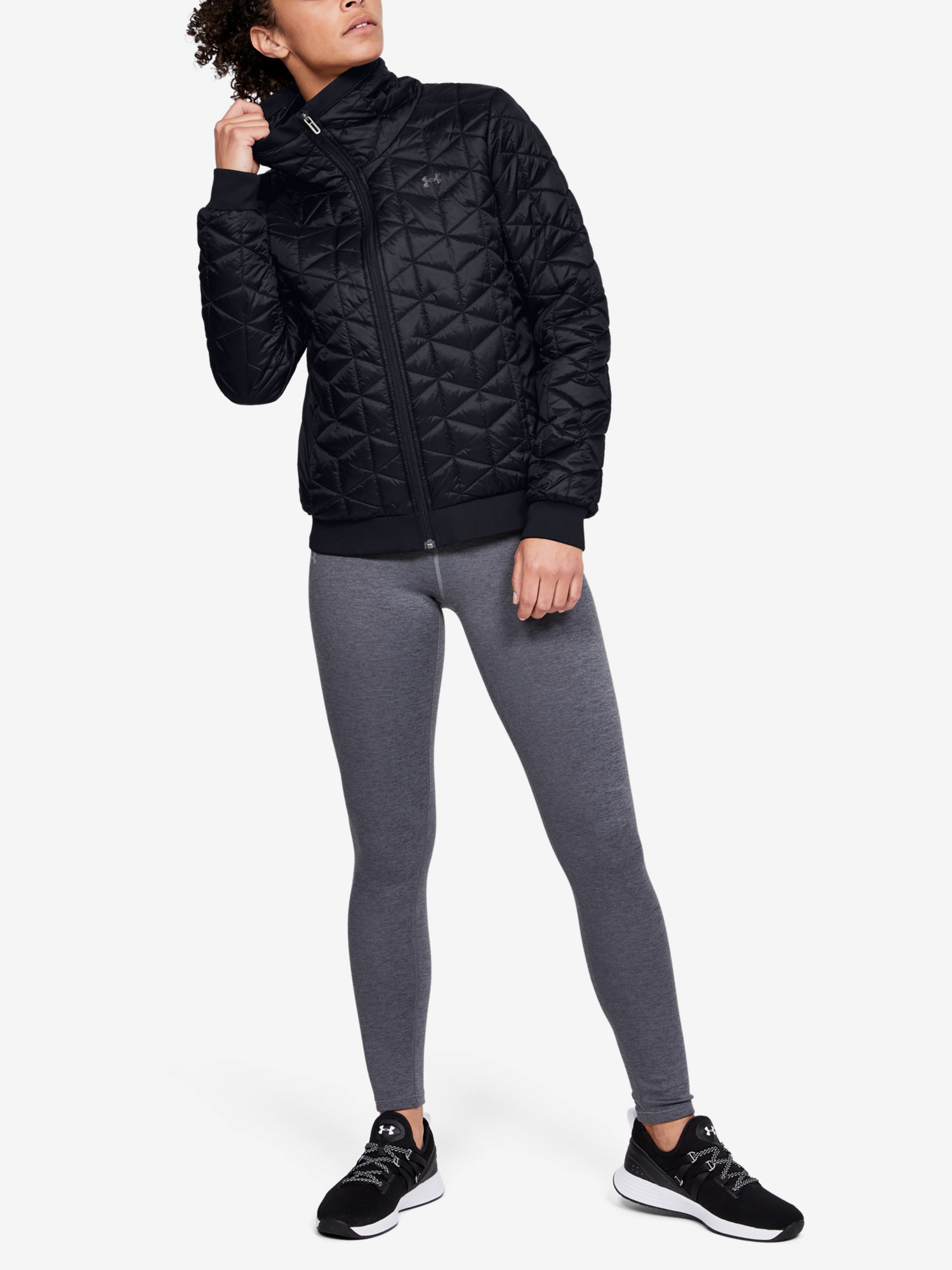Bunda Under Armour Cg Reactor Performance Jacket-Blk (5)