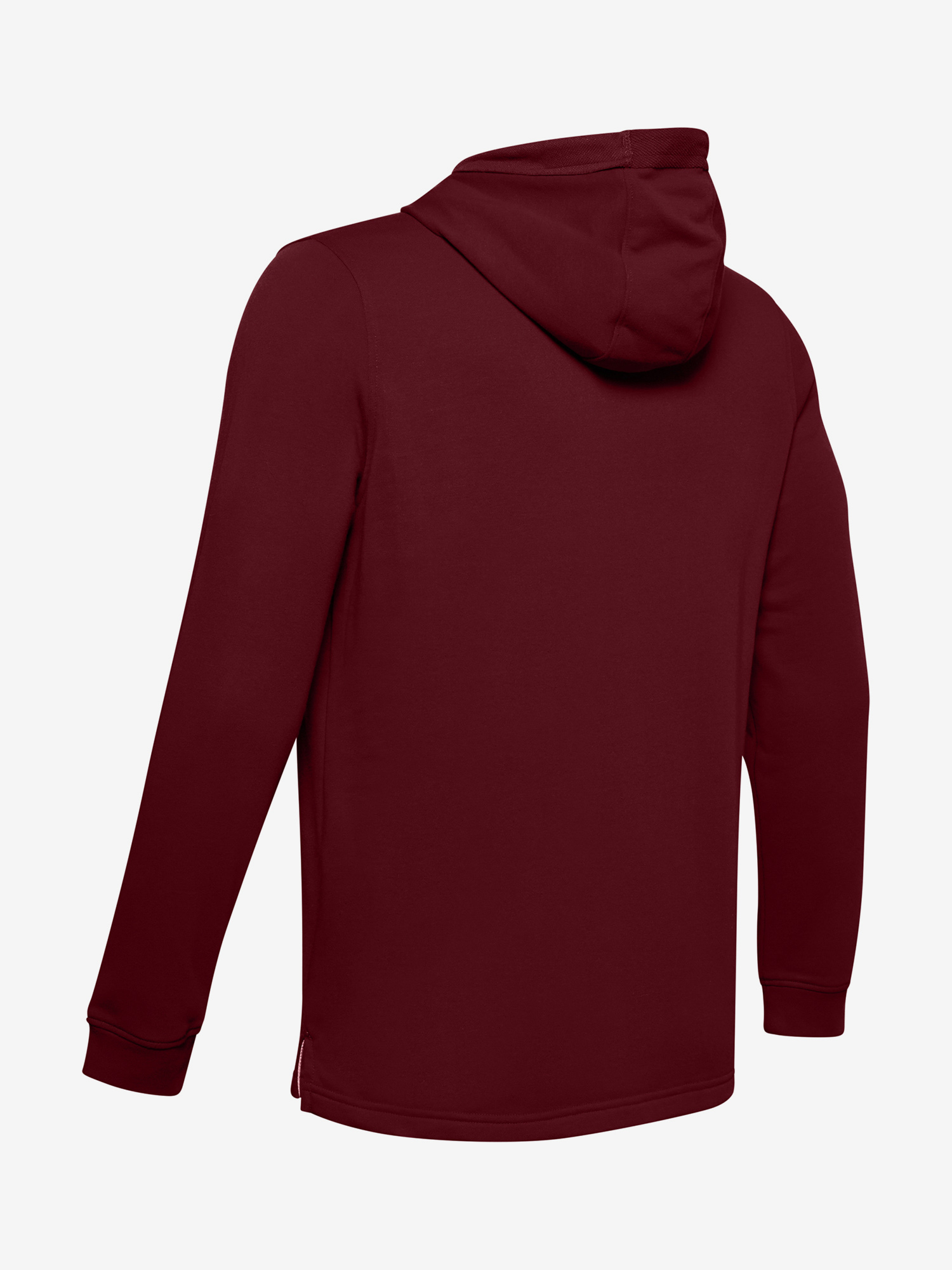 Mikina Under Armour SPORTSTYLE TERRY LOGO HOODIE-RED (5)