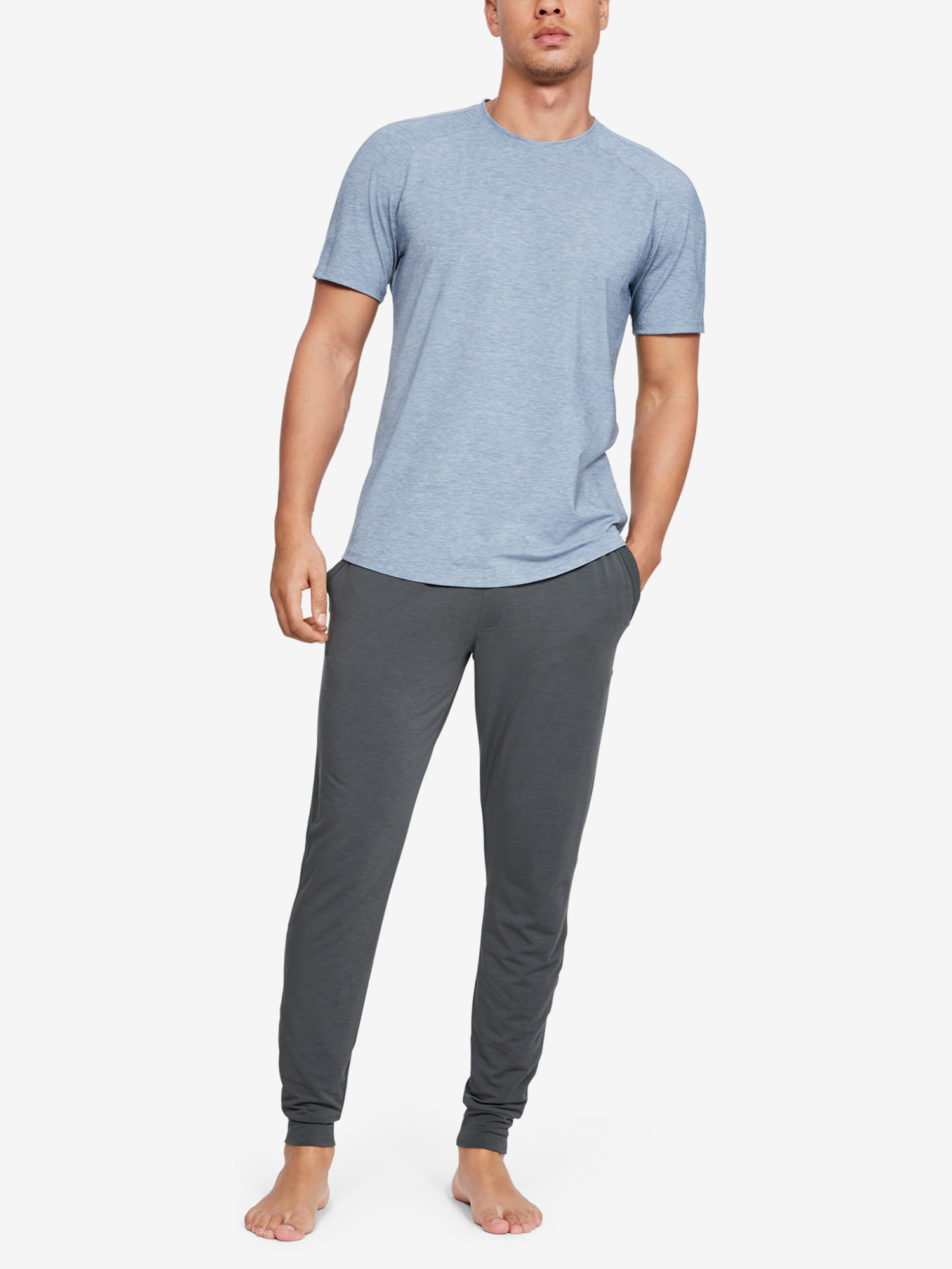 Tepláky Under Armour Recovery Sleepwear Jogger-Gry (5)