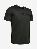Tričko Under Armour Run Warped Shortsleeve-Grn }}