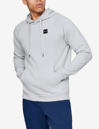 Mikina Under Armour Rival Fleece Po Hoodie-Gry