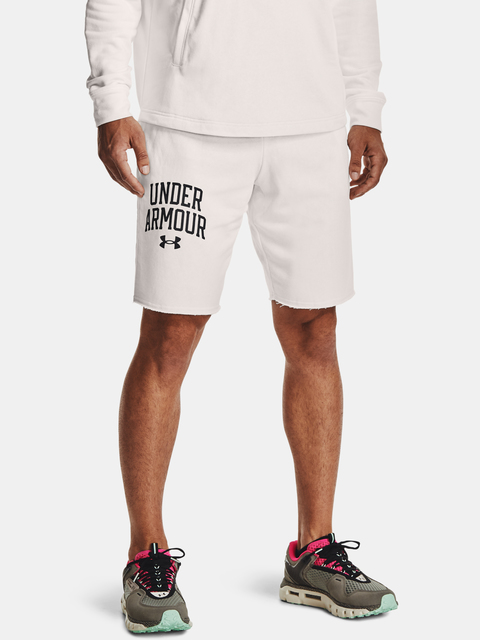 Kraťasy Under Armour UA RIVAL TERRY CLLGT SHORT-WHT